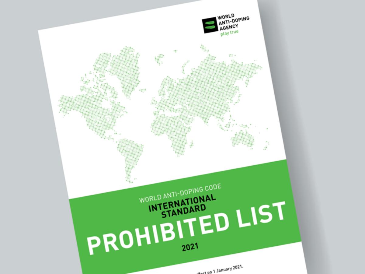 Wada 2021  Prohibited  List